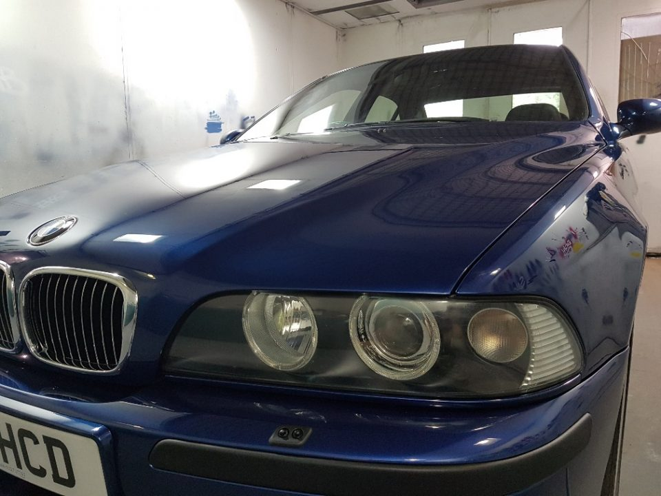 BMW Blue Respray